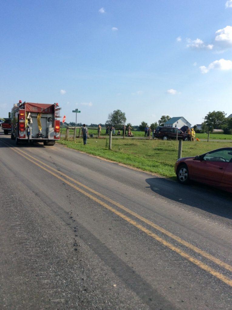Balmerstown Road Crash