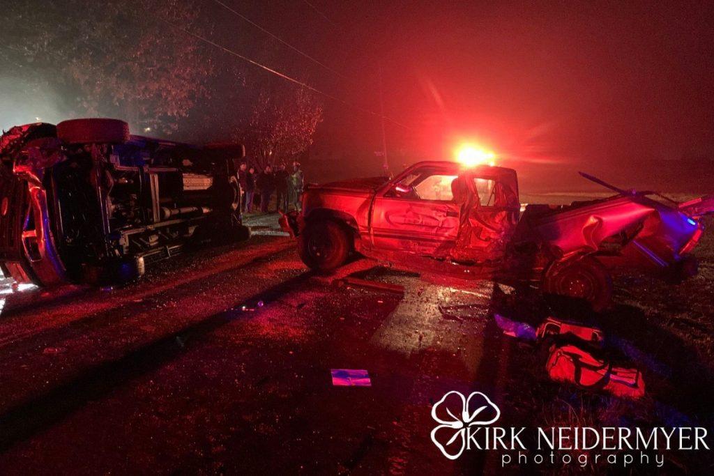 N. Shirk Rd Crash
