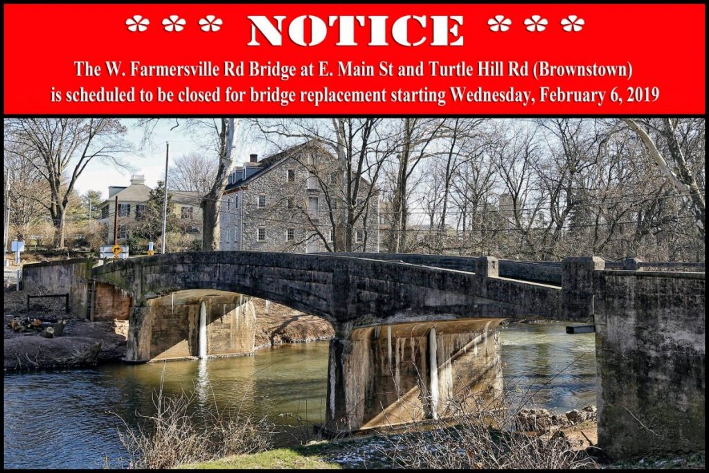W. Farmersville Road Bridge Closure