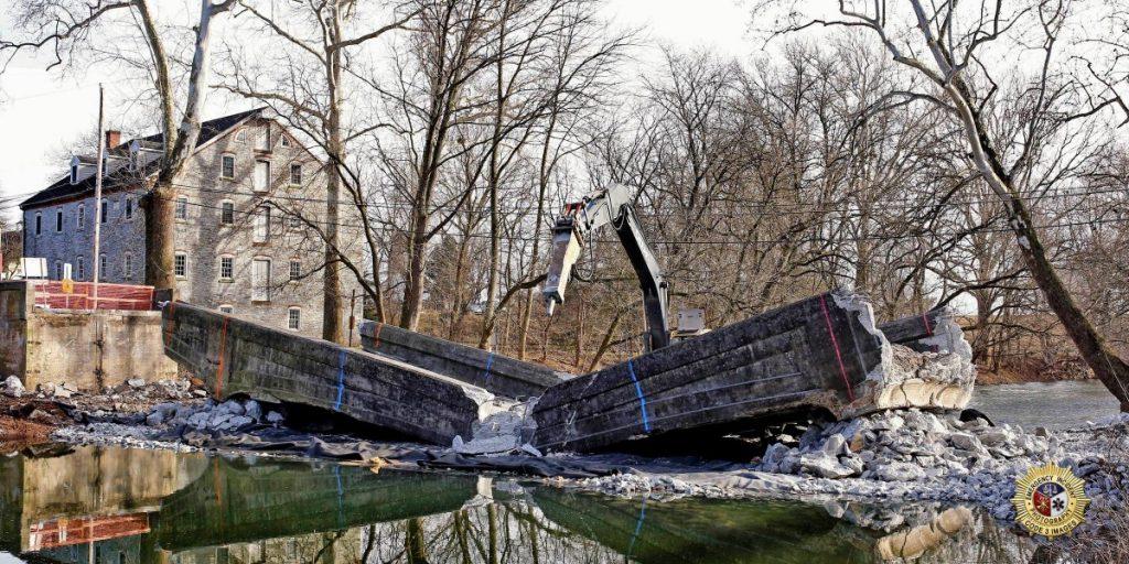Photos of the W Farmersville Bridge project